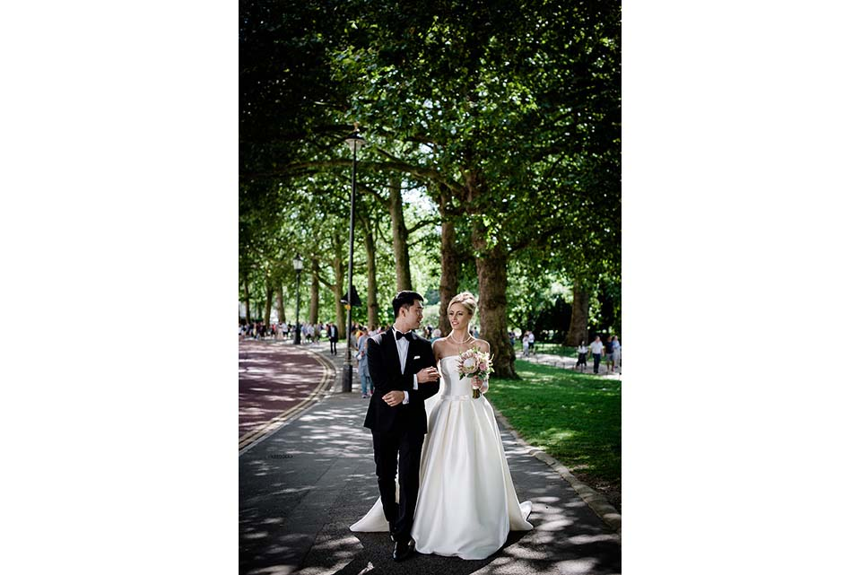 London Wedding Portrait