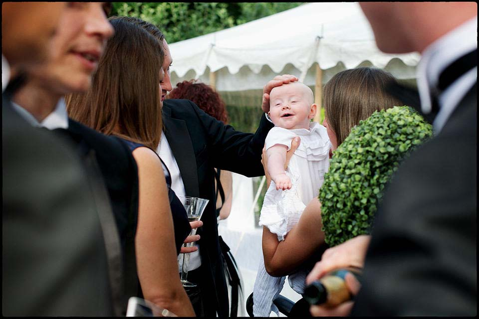 Baby At Wedding
