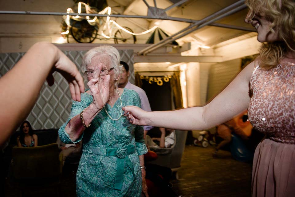 Dancing Granny Wedding