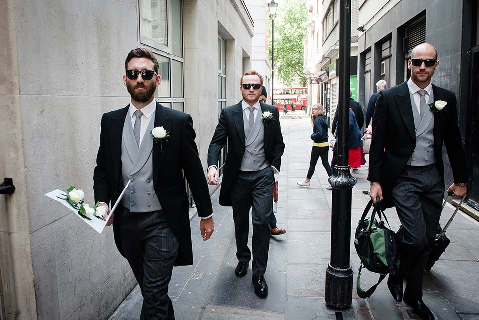 London Groom And Ushers