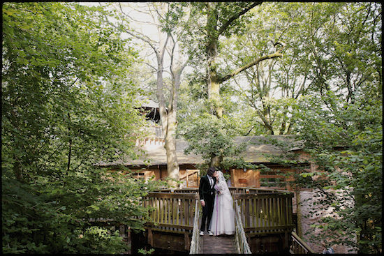 Julie and Luke - New Forest Treehouse Study Centre
