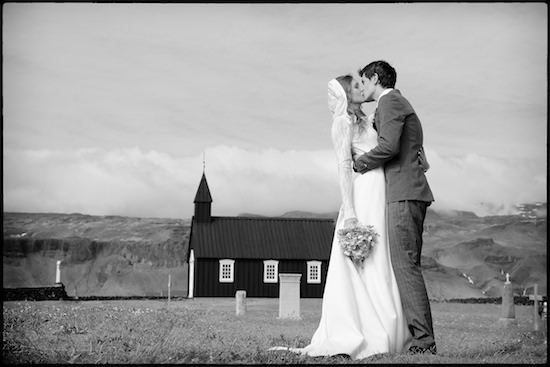Alexey and Mila - Black Church, Iceland