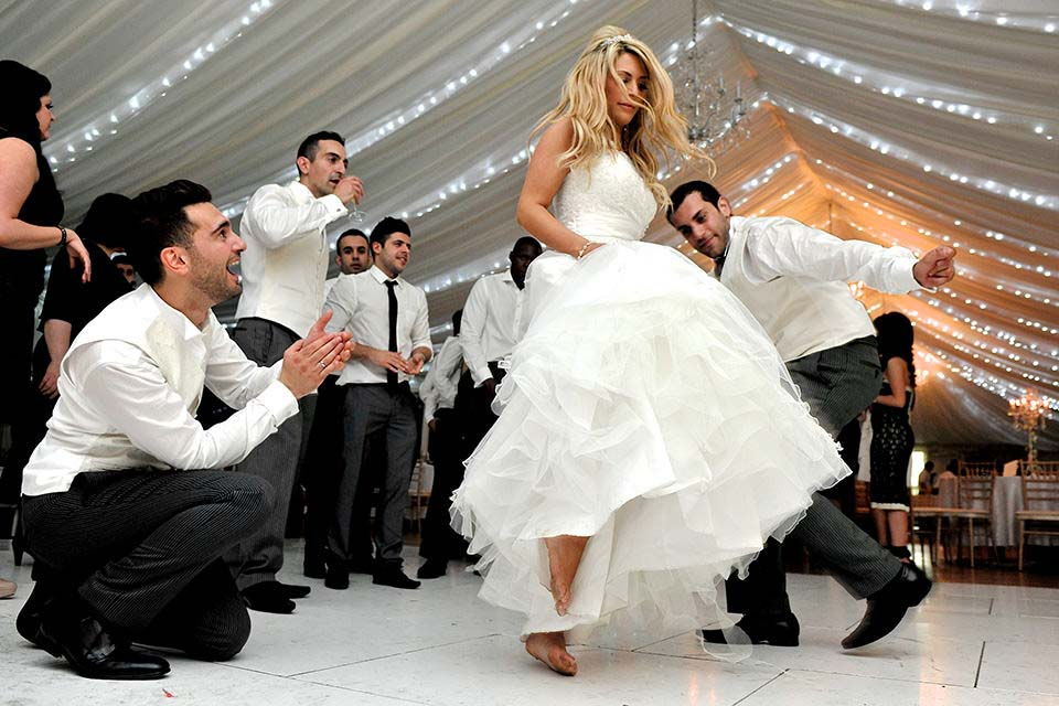 Greek Wedding Dancing