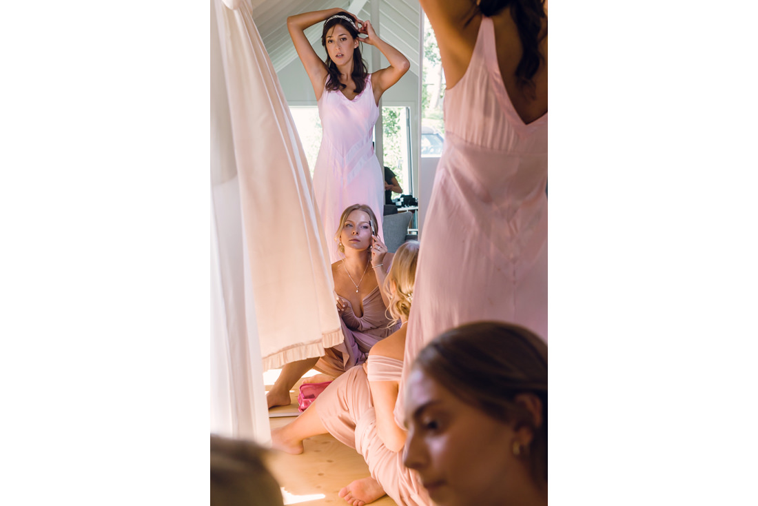 Reportage Wedding Photo Bridesmaids