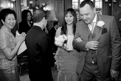 Clerkenwell House Burgh House wedding
