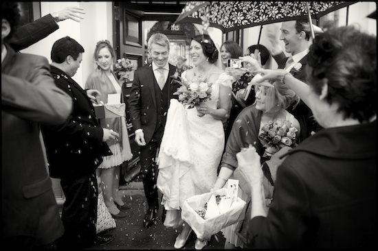 wedding photography at Burgh House, London