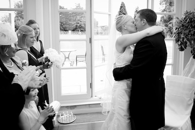Sarah and Gary - Buxted Park Hotel
