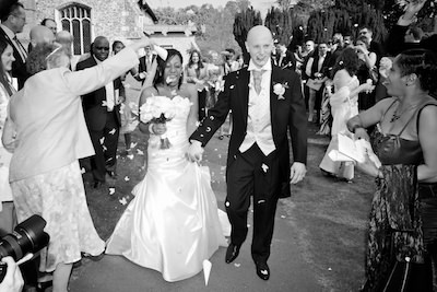 Leonie and Richard - Manor of Groves Hotel