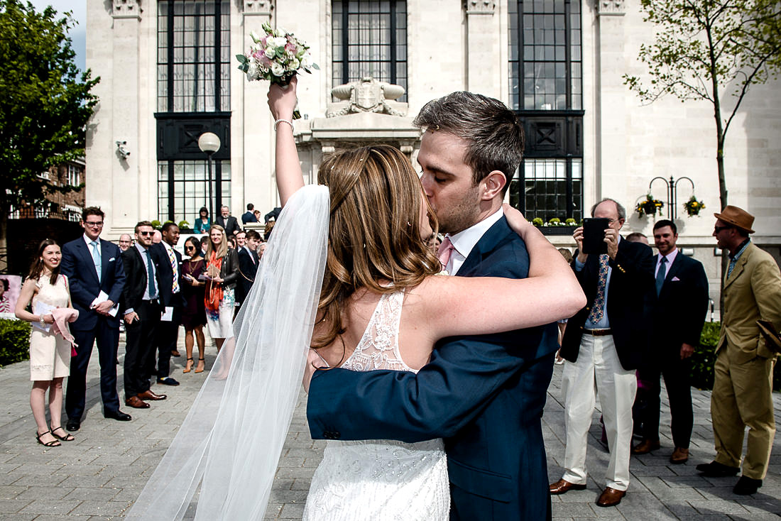 Rosie and Marcus - Islington Town Hall