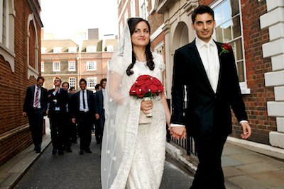 Ben and Saira - The Honourable Society of Gray's Inn