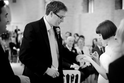 Rebecca and Tom - The Tithe Barn